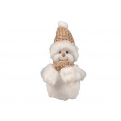 Sneeuwman met muts