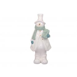 Porcelain snowman