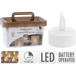 24 led tea light candles