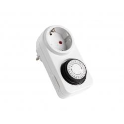 Minuteur électrique blanc