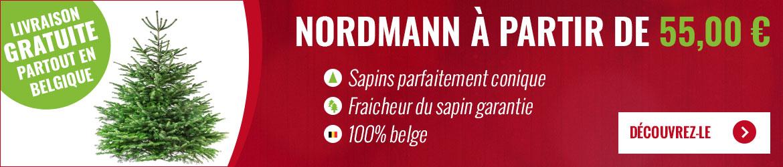 Nordmann à partir de 55 euros
